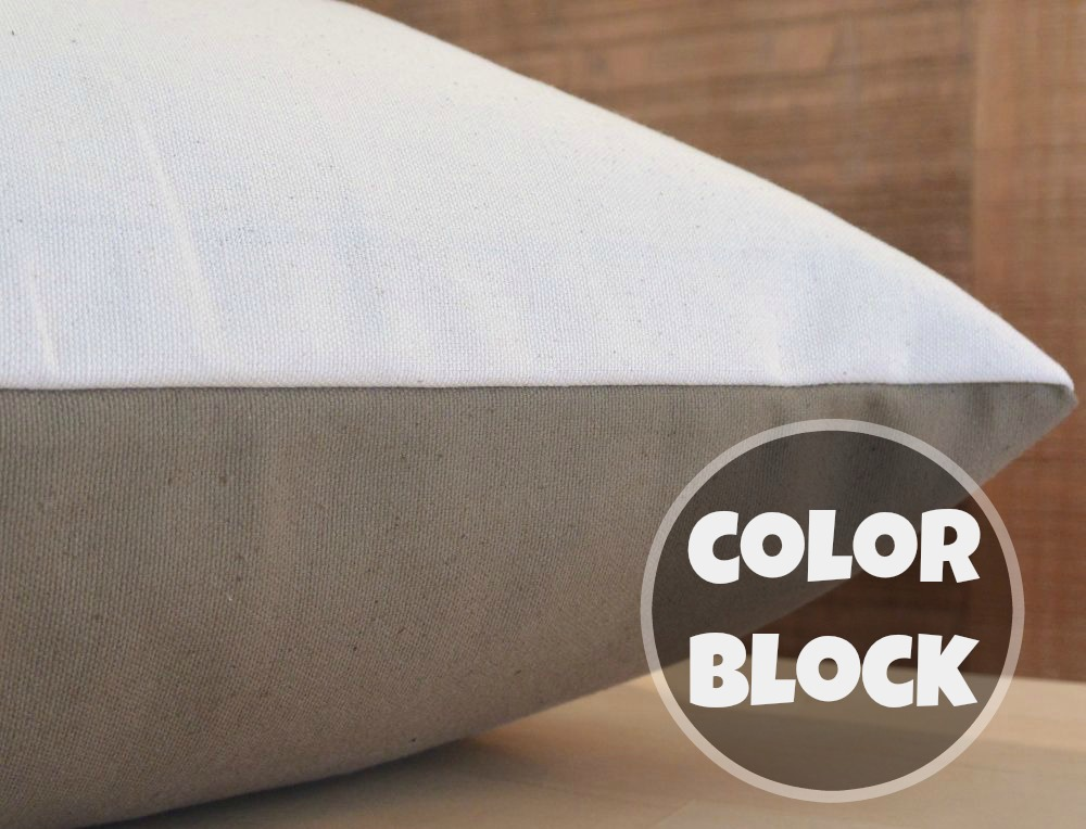 Color Block Dog Bed Covers
