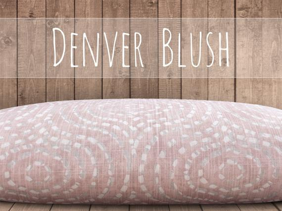 Blush Dog Bed Cover