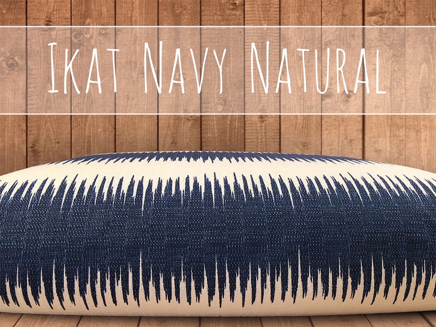 Ikat Dog Bed Cover