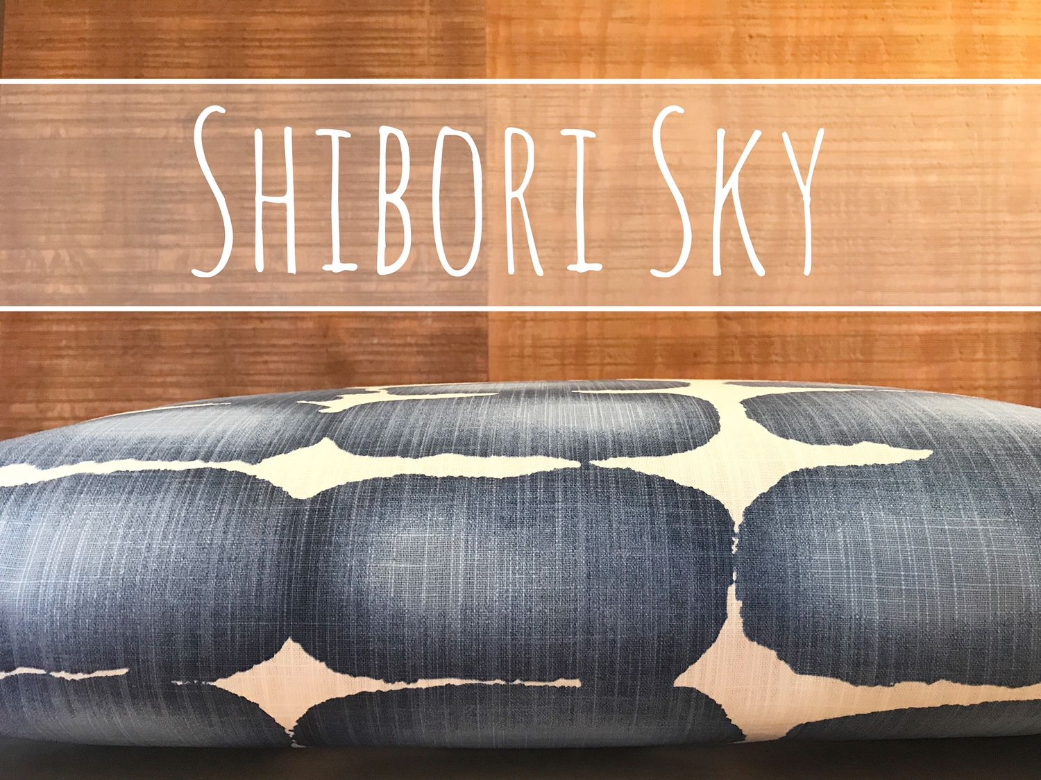 Shibori Dot Dog Bed Cover