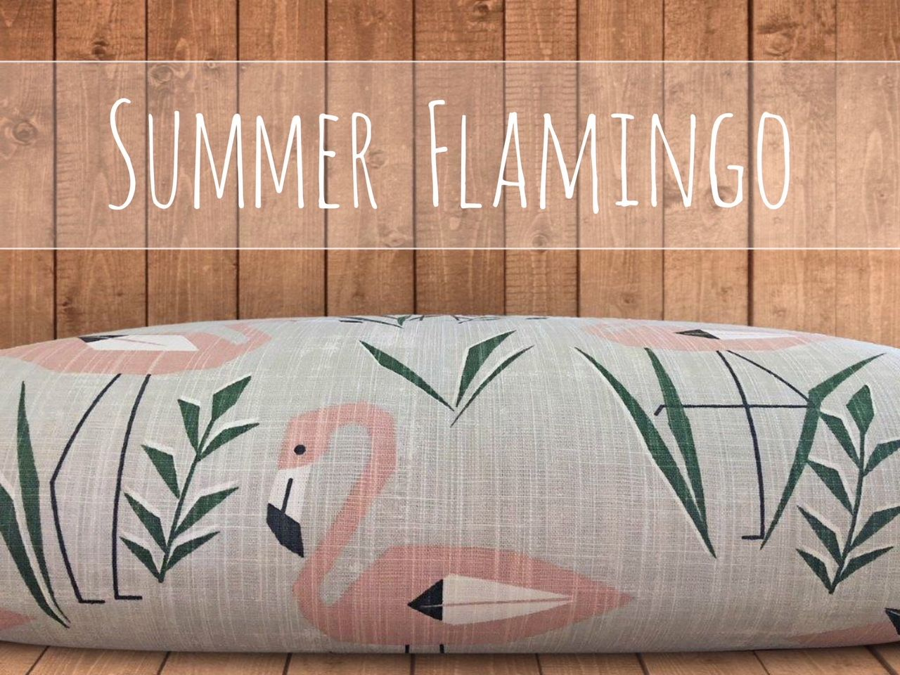 Flamingo Dog Bed Cover