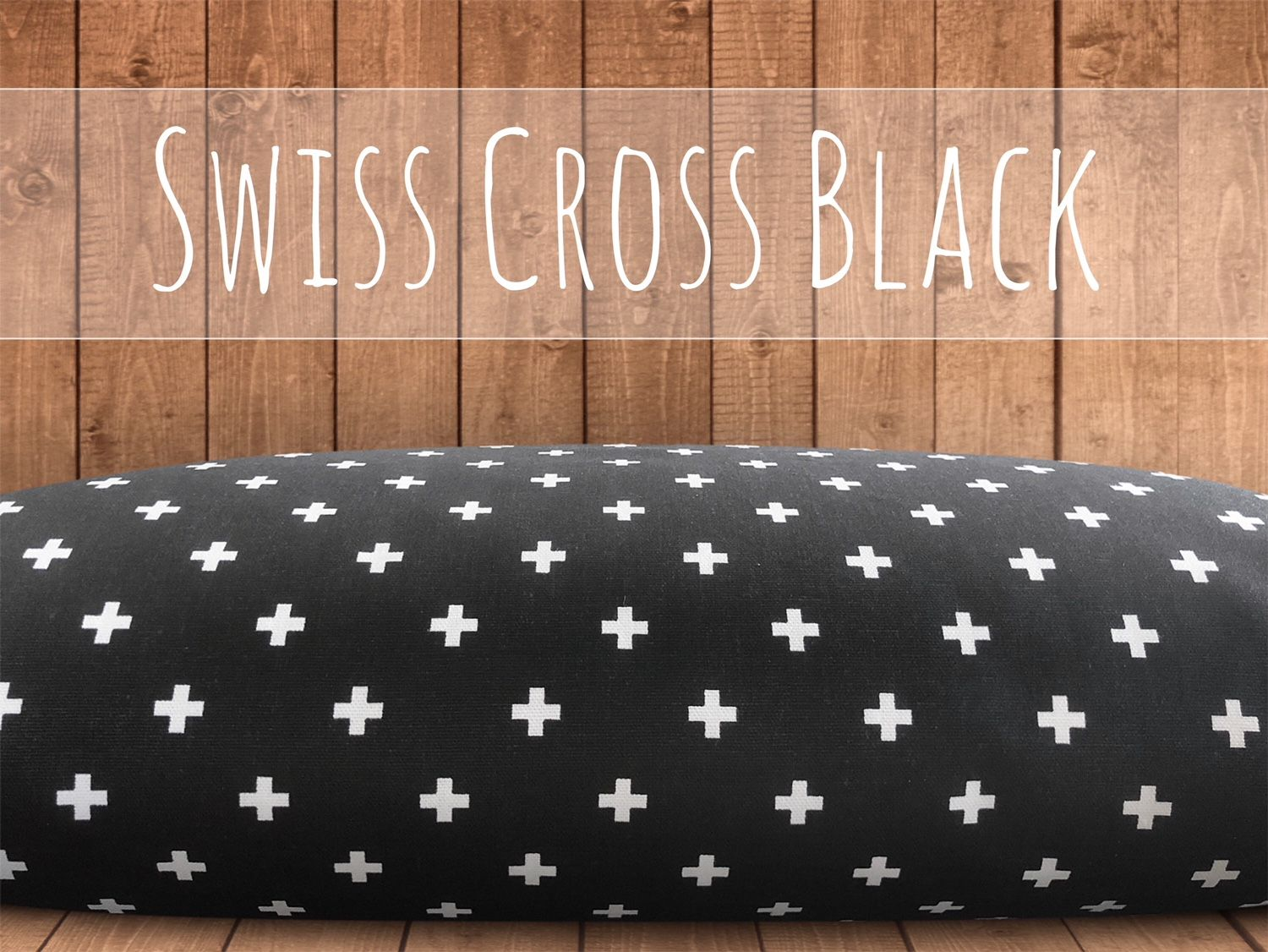 Swiss Cross Dog Bed Cover