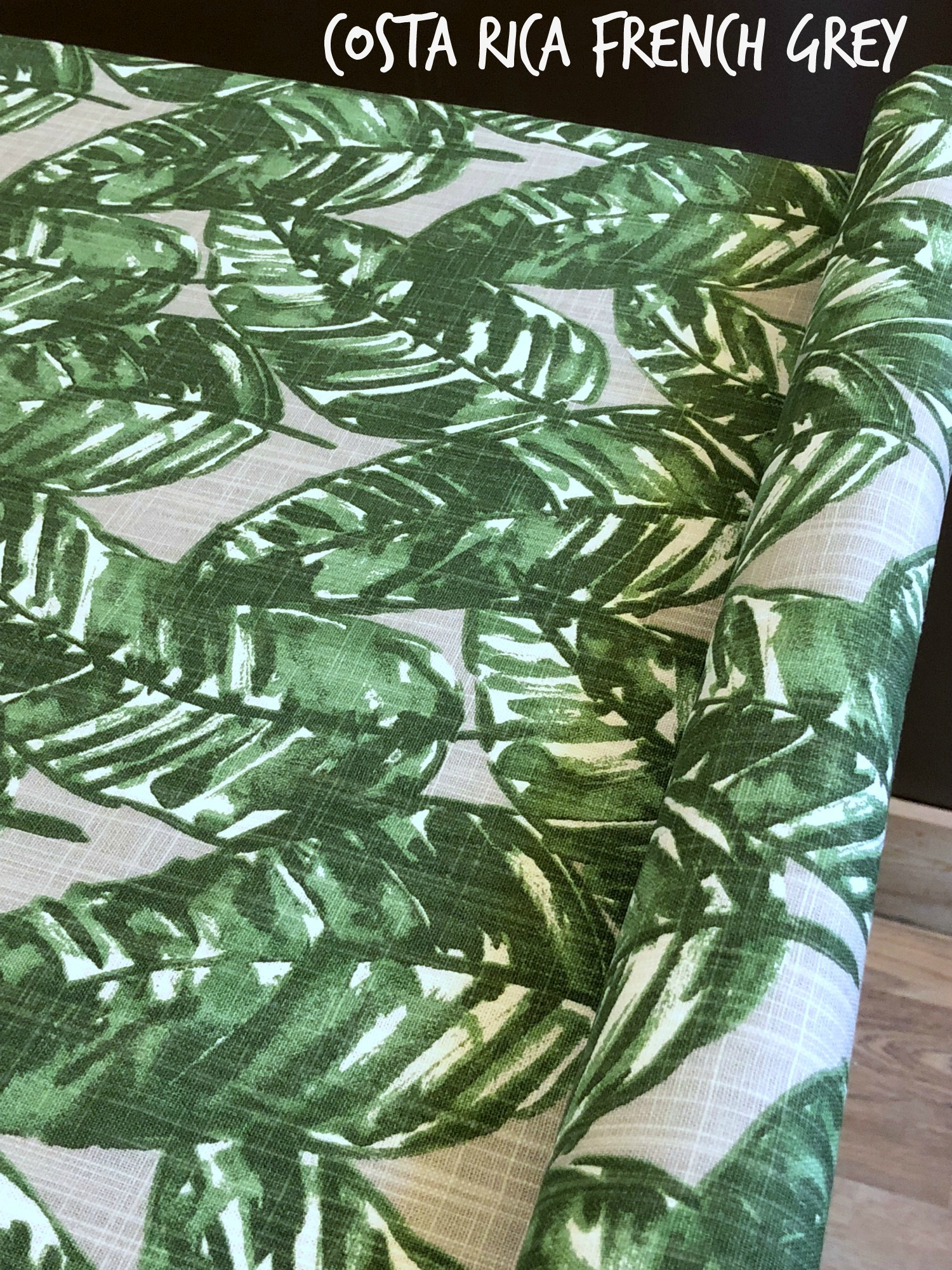 Tropical Leaf Crate Cover