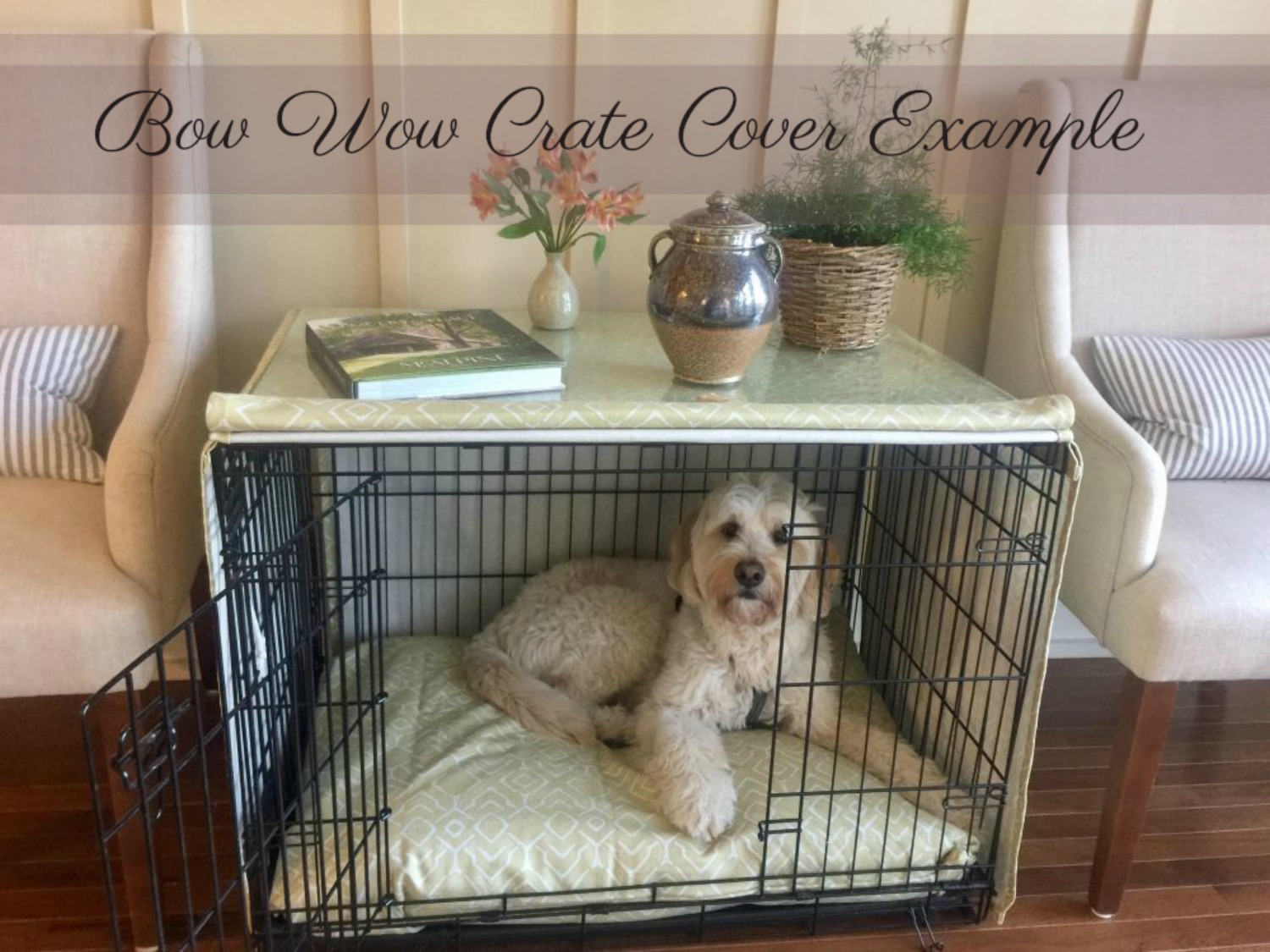 Canvas Crate Covers