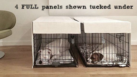 Natural Canvas Crate Covers