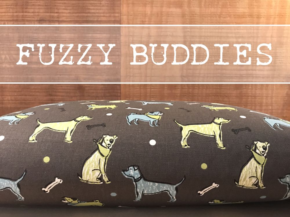 Fuzzy Buddies Dog Bed Cover