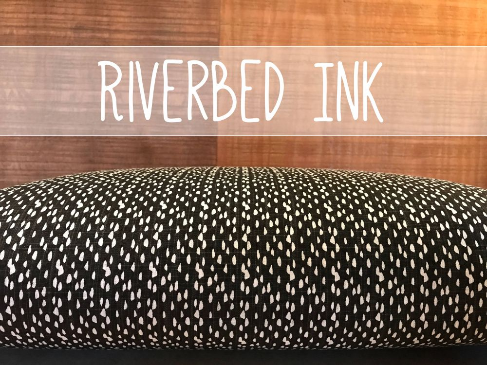 Riverbed Ink Dog Bed Cover